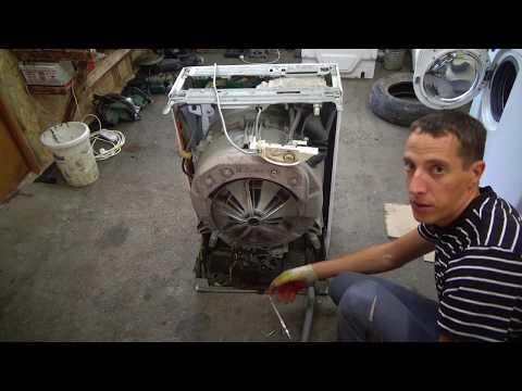 Как заменить подшипники на стиральной машине электролюкс, зануси!