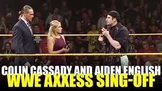 Axxess 2014: Colin Cassady and Aiden English Sing-Off