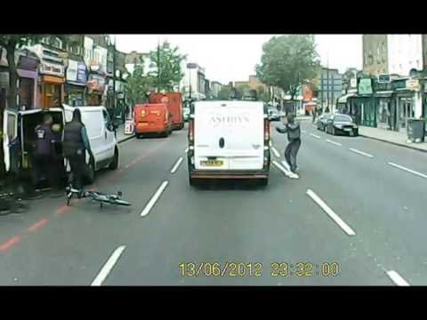 Road rage down in South London