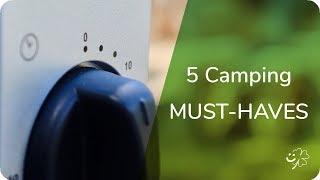 5 UNVERZICHTBARE Camping-Gadgets - glücklichTV