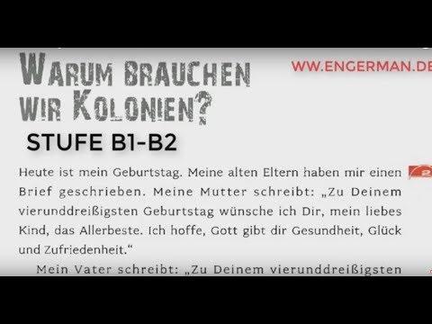 Deutsch für Fortgeschrittene B1-B2 |  Deutsch mit Geschichten