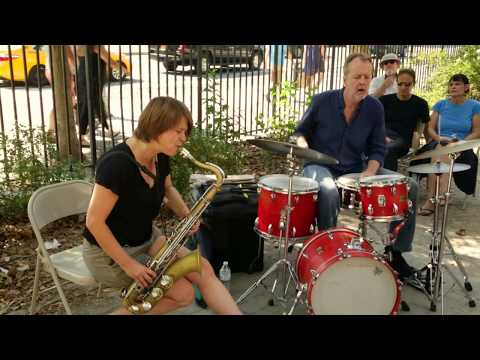 Ingrid Laubrock & Tom Rainey - at First St. Green / Arts for Art - Sept 24 2017