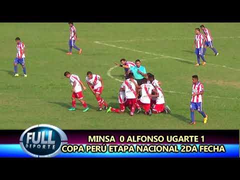 GOL MINSA 0 ALFONSO UGARTE 1