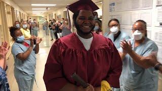 High School Senior Beats COVID-19 and Graduates in Hospital | Coronavirus News for June 4, 2020