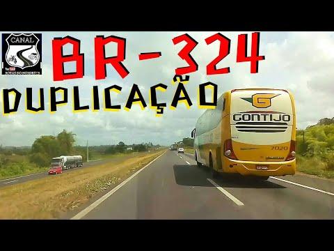 """Dirigir em rodovia duplicada, BR-324 sentido Salvador X Feira de Santana,  """"Gontijo no cenário"""""""