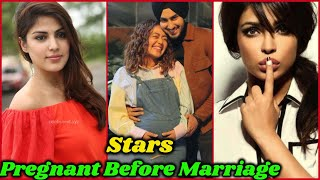10 Bollywood Actresses who Got Pregnant Before Marriage