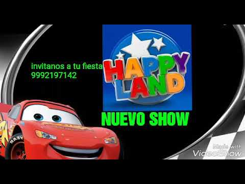 H.L show infantiles Mérida happy land cars