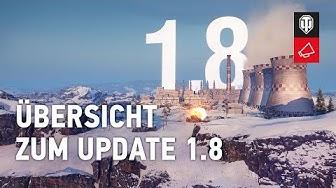Update 1.8: Tagesaufträge, Sitzungsstatistik und Frontlinie [World of Tanks Deutsch]
