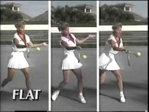 Chris Evert Tennis Tips: Basics of Forehand, Backhand & Serve