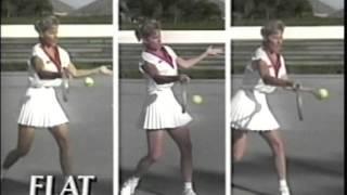 Chris Evert Tennis Tips: Basics of Forehand, Backhand & Serve
