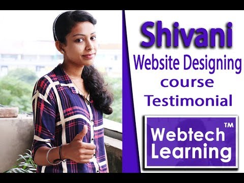Learn How To Design Your Own Website at WebtechLearning - Web Education Academy