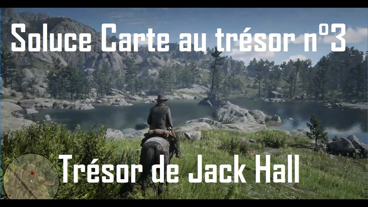 carte de la bande de jack hall 2 Red Dead Redemption 2   Trésor de Jack Hall / carte n°3   YouTube