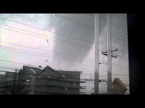 Tornado in Ocean City Maryland - Atlantic Shores Realty