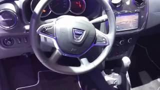 """Новый Renault/Dacia Sandero Stepway 2016-2017 """"Парижский автосалон"""" (live)"""