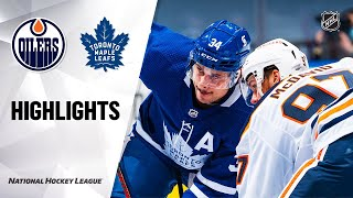 NHL Highlights | Oilers @ Maple Leafs 1/20/21