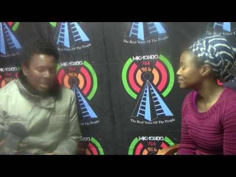 "Bholoja a ""Swazi-Soul singer"" from Swaziland was live @Mkhondo FM's Just Jazz Picnic 2016"
