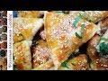 Поделки - Сочная Самса с бараниной из слоеного теста. Восточные пирожки с мясом и луком.