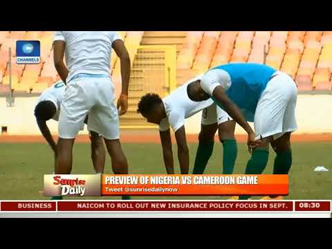 Fmr Nigerian Goalie Peterside Tips On Clinching Victory Against Cameroon Pt.1 |Sunrise Daily|
