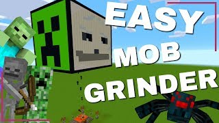 Mob Grinder Minecraft: How to Make a Mob Farm in Minecraft 1.14.4   WORLD DOWNLOAD (Avomance 2019)