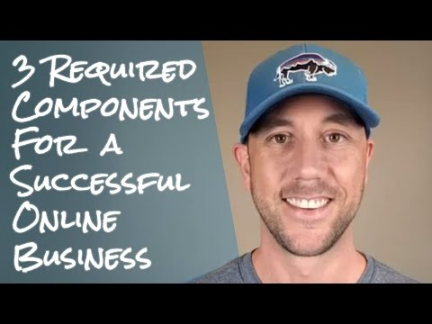 3 Required Components For A Successful Online Business