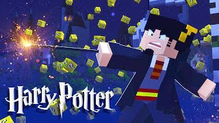 Minecraft: ESCADONA - HARRY POTTER  ‹ AMENIC ›