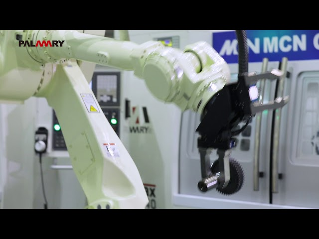 PALMARY CNC Cylindrical Grinder 3 no  OCD 2040 with robot 180301