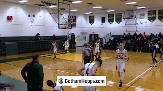 Wings Academy (NY) vs. Holy Cross High School (NY) at 2019 Gotham Hoops Winter Classic
