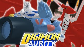 Digimon Aurity - OMNIMON & EXAMON ARE BACK AGAIN!!! (Roblox Gameplay)