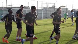 استعدادات الدحيل لمواجهة الغرافة في نصف نهائي كأس قطر