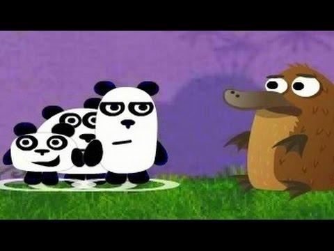 Три панды мультфильм мультик игра для детей ночь 1 серия