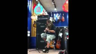 Mark Morton - Lamb of God at Guitar Center - Dallas TX