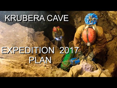 Expedition Krubera cave in 2017.