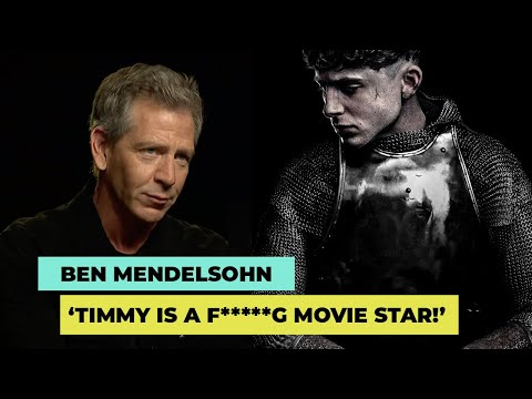 The King Star Ben Mendehlson On Shakespeare And 'real Movie Star' Timothée Chalamet