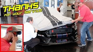 DETERMINED VETERAN FINALLY BUYS HIS DREAM CAR | 2019 GT350R MUSTANG *EMOTIONAL*