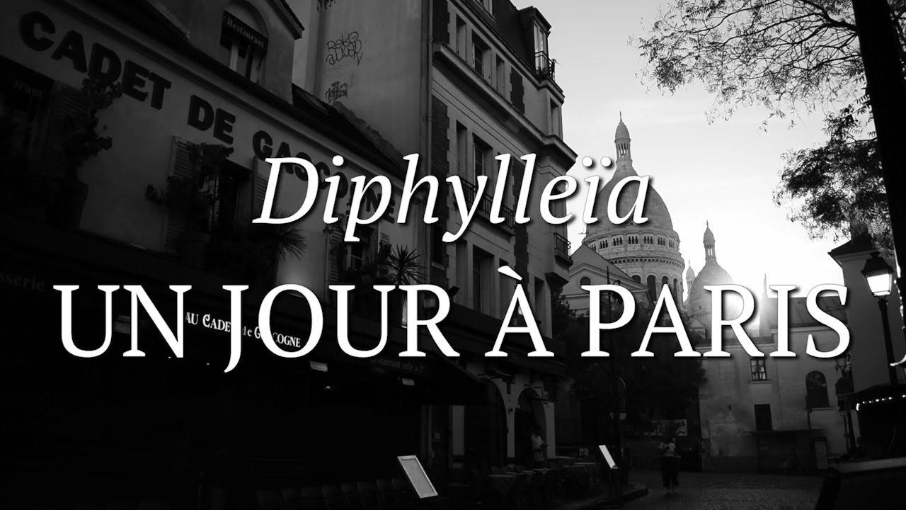 Un Jour à Paris Poème Visuel