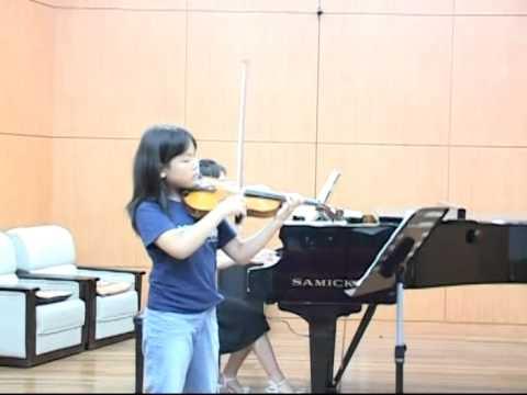 Dr.Eun Hwan Bai Masterclass, 2004 Violin Story Camp(student concert)