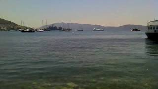 Bodrum Marina from Burger King Outdoor