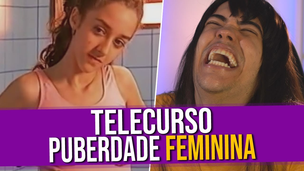 Análise do Vídeo: Telecurso Puberdade Feminina