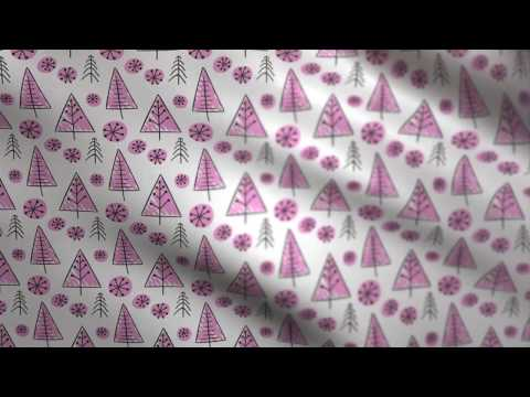 Christmas Background - Fabric Waving (gift wrapping paper) Purple // Free Motion Graphics