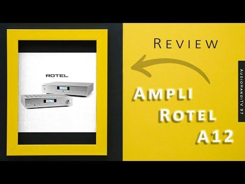 [AudioHanoiTV] Số 97: Review Ampli Rotel A 12