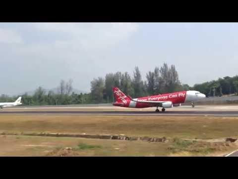 Phuket Airport Runway 27 Landings Takeoffs – 787, A320, 737, ATR72, 777, 767