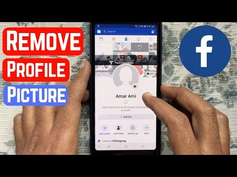 How to change my facebook page profile photo