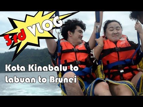 Vlog 3 - Kota Kinabalu to Labuan to Brunei