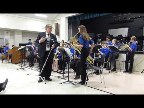 """Electric Lady"" performed by Diablo View Middle School Jazz band"