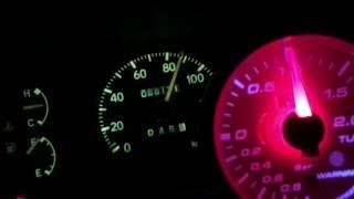 L700 ミラターボ EF-DET 0-100 加速