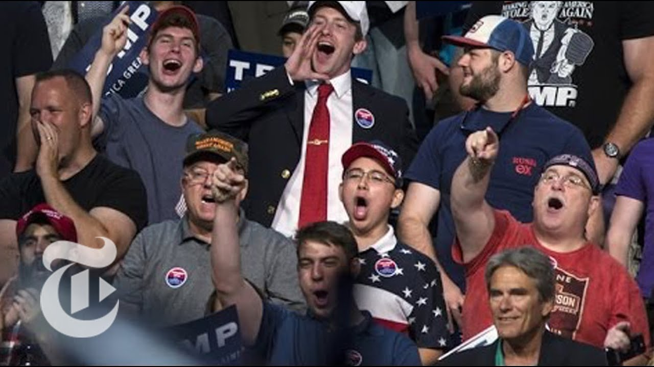 Image result for donald trump crowd violence