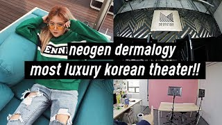 Most Luxurious Movie Theater in Korea!! (Suite Room), Visit to Neogen Dermalogy Office | DTV #42