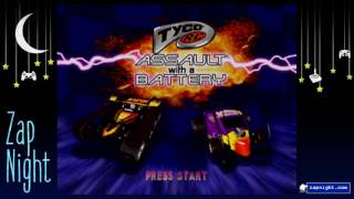 Zap Night Thrift Shop Game: Tyco R/C Assault with a Battery