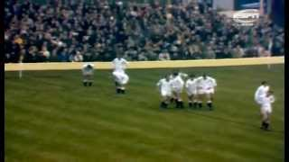 RUGBY 1967 England vs New Zealand All Blacks
