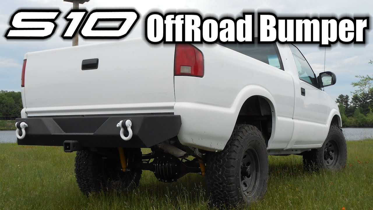chevy s10 off road bumpers